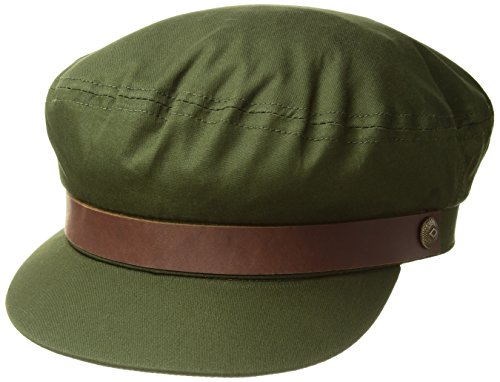 Brixton Men's Fiddler Greek Fisherman HAT, Army S