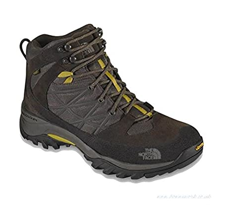 The North Face Storm Mid WP Boot Men's Weimaraner Brown/Antique Moss Green 8.5