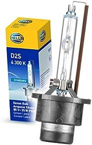 Hella D2S 4300 K Foco Xenón Standard D2S/D2C con Instructivo Gráfico, color D2S, N/A, pack of/paquete de 1