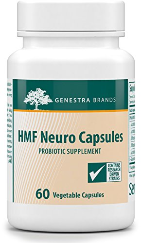Genestra Brands - HMF Neuro Capsules - Probiotic and Amino Acid Formula - 60 Capsules by Genestra Brands