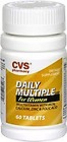 Cvs Pharmacy Daily Multiple For Women  With Iron  60 Tablets