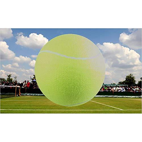 Tiowea 9.5inch Stretch Pet Sporting Goods Tennis Dog Play Big Inflatable Tennis Ball Balls