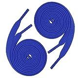 144 (12 Dozen) of 54'' (137 cm) Royal Blue Shoelaces (Flat)