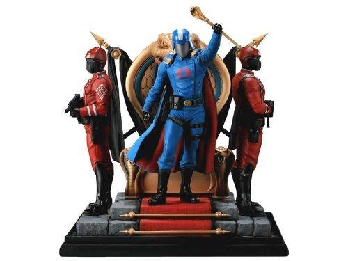 Diorama Gi Joe (Sideshow Collectibles - G.I. Joe diorama Cobra Commander 30 cm)