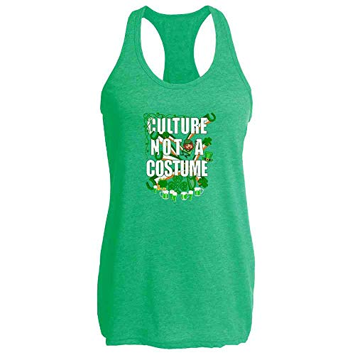 Culture Not A Costume St Patrick's Day Heather Kelly L Womens Tank ()