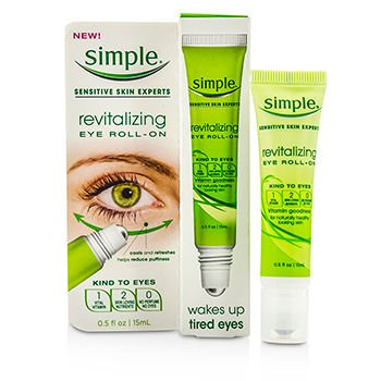Simple Eye Roll-On, Revitalizing 0.5 oz Thalgo - Wrinkle Control Smoothing Care - 250ml/8.45oz