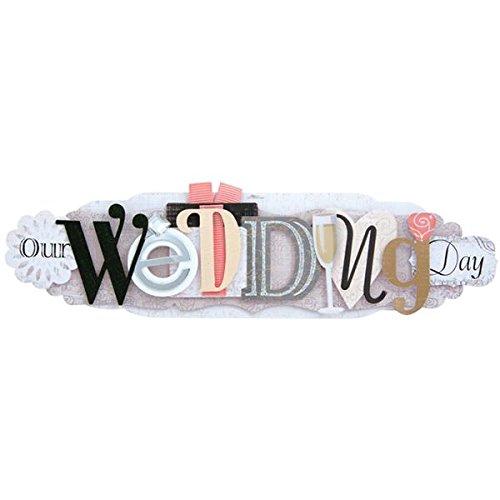 KAREN FOSTER Wedding Design Scrapbooking and Craft Embellishment Stacked Statement