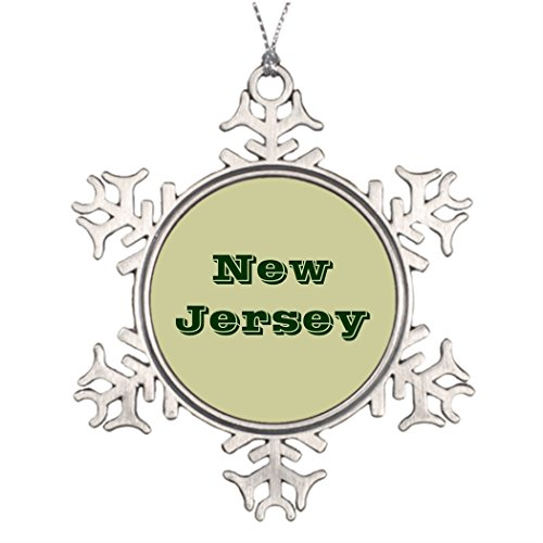 Butter Tisse Personalised Christmas Tree Decoration New Jersey Outdoor Christmas -