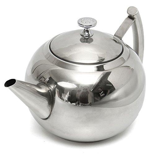 Teapot Coffee Maker SENREAL Stainless Steel Tea Pots for Stove Top 1500ML/2000ML