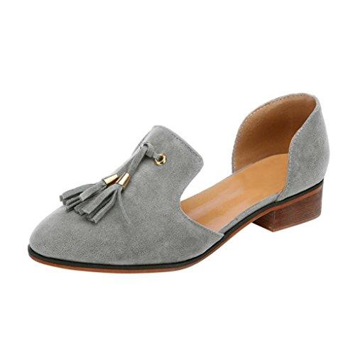 - Clearance Women Shoes COPPEN Unique Women Ladies Autumn Shoes Ankle Solid Tassels Leather Romon