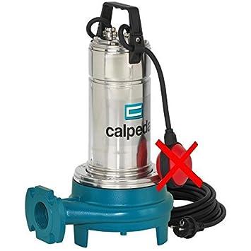 CALPEDA Bomba Triturador Sumergible Agua Residuale GQG6-25 1,5kW 2Hp 400V 50Hz: Amazon.es: Hogar