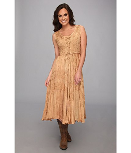 Scully Honey Creek Amelie Dress Beige MD