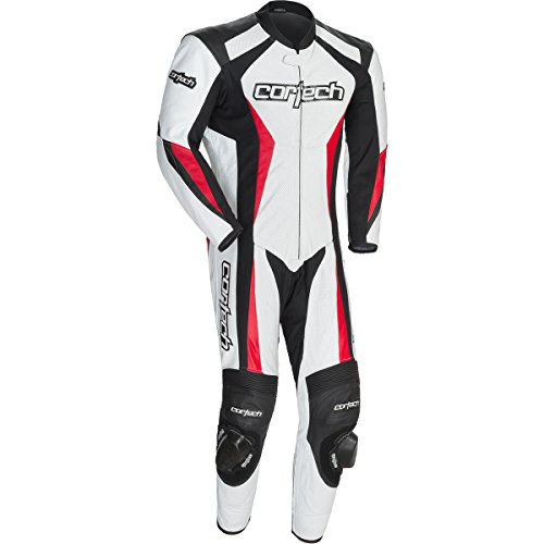 1 Piece Leather Motorcycle Suit - 2