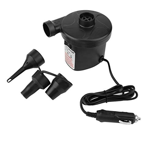 CamKpell Smart Quick-Fill AC Electric Air Pump Best for Airbed Inflatable Boat kids Paddling Pool /& Toys Inflator and Deflator