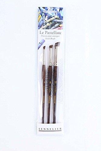 Sennelier Le Pastelliste Pastel Brush Set 3Pc