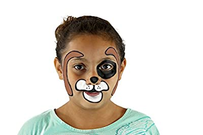 JOYIN 24 Colors Face Paint Safe & Non-Toxic Face and Body Crayons (Large Size 3 inch) Ultimate Party Pack Including 6 Metallic Colors for Halloween Makeup