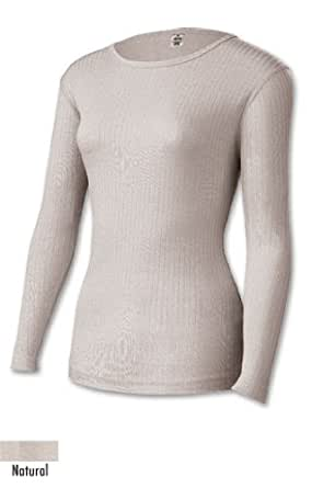 Duofold Woman's Poly-Pro Top,Natural,X-Large