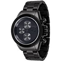 Vestal Unisex ZR2001 ZR-2 Minimalist Polished Silver Chronograph Watch from Vestal