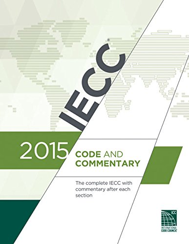 - 2015 International Energy Conservation Code Commentary