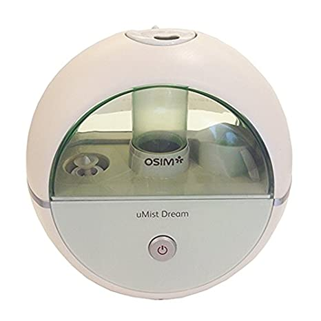 Osim uMist Dream Hydrating Ultrasonic Humidifier for a Restful Sleep (White) Humidifiers at amazon