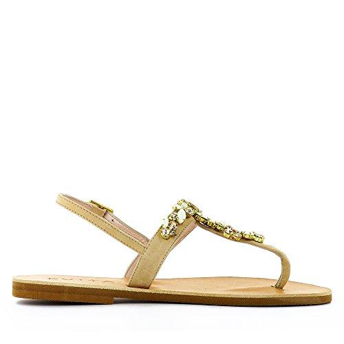 Daim Nu Shoes Femme Greta Evita Sandale wq0aRafx