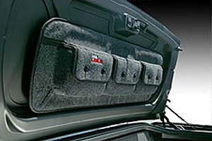 Covercraft Custom Pocket Pods; Trunk Storage Bag Model # TO1023CH Charcoal 3 CH (Trunk Pods Pocket Storage)