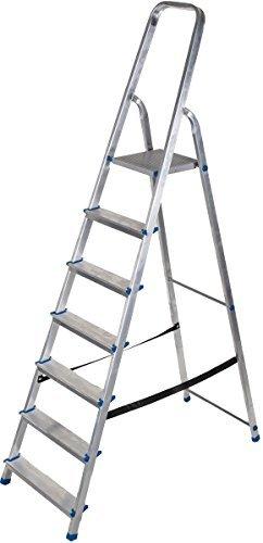 Aluminium-Leiter 7 Stufen alpfa GmbH