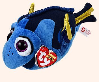 Disney Pixar Finding Dory Limited Edition Nature's Harvest Beanie Boo Fish Plush ()