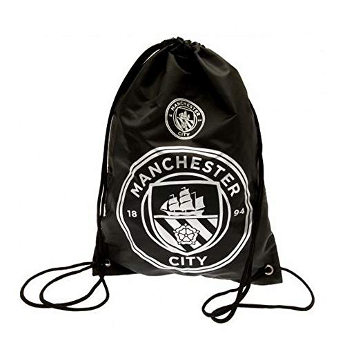 Spot On Gifts React Football Club Gym Bag (One Size) (Manchester City) (Manchester City Shoe Bag)