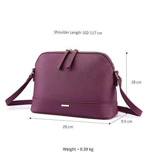 Sac Petit violet Femme le Bandouliere Sac Coquille Sac Pour et Printemps Petite l'été Paquet Sac Casual XxZq1z8w
