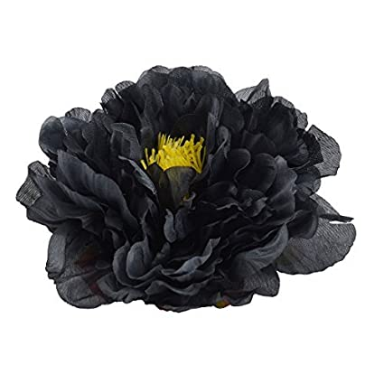 eDealMax Sala de Estar Tela Artificial del Peony de la cabeza de Flor DIY Hecho a