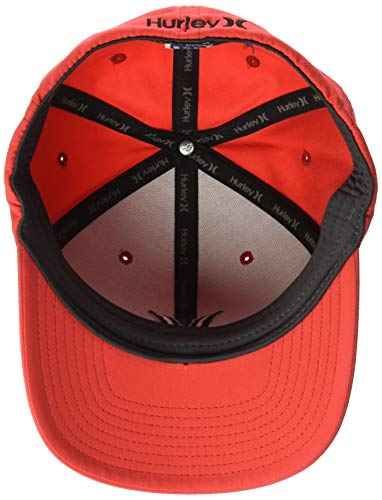 san francisco 3816c 542b3 Amazon.com  Hurley Men s Dri-fit One   Only Flexfit Baseball Cap  Clothing