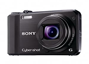 Sony 16.2 MP Exmor R CMOS Digital Still Camera with 10x Wide-Angle Optical Zoom G Lens and Full 1080/60i HD Video by Sony