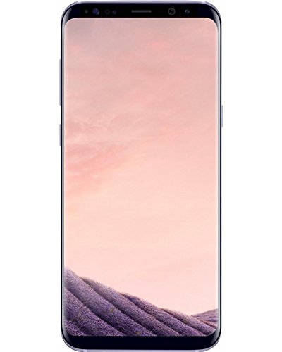 Samsung Galaxy S8, G950FD 64GB Smartphone, Orchid Grey, Factory Unlocked (International Version)
