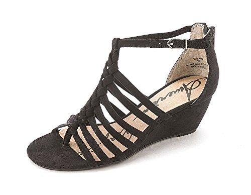 American Rag Womens Calla Open Toe Casual Platform Sandals Black