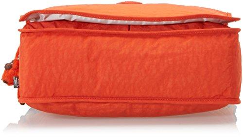 Kipling K15379D71 Borsa Messenger, Nylon, Arancione