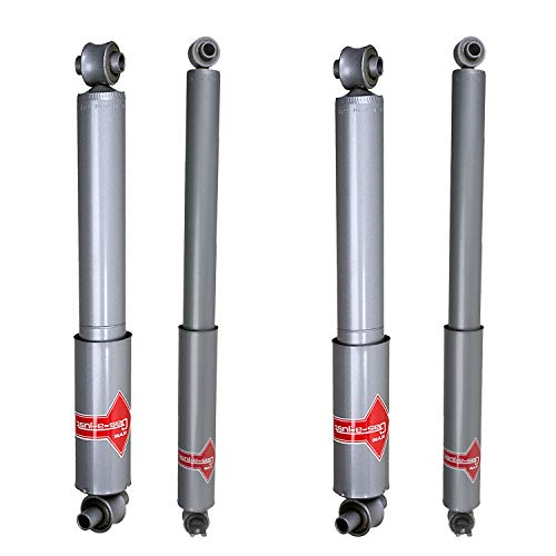 KYB Gas-A-Just Monotube Shocks Set for 1992-1999 Chevrolet K2500 Suburban 4WD