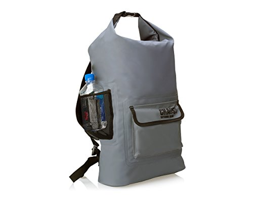 Chaos-Ready-Waterproof-Backpack–Dry-Bag–Quality-Heavy-Duty-Padded-Shoulder-Straps-Mesh-Side-Pockets-Easy-Access-Front-Pocket