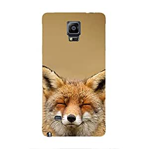 Cover It Up - Content Fox Galaxy note Edge Hard Case