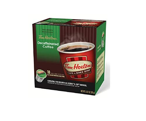 Single Supernova (Tim Hortons Decaffeinated Single Serve Coffee Cups, 18 count - 1 case (Packaging May Vary))