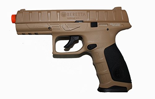 Umarex Beretta APX Co2 Airsoft Pistol w 2 Mags - FDE / Black - New - 2274307 Beretta Slide