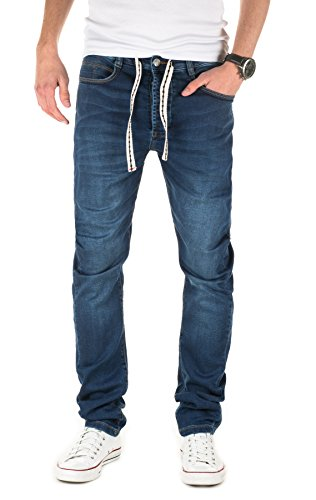 Yazubi Designer Sweatpants in Jeans-look - Desmond - Jeans Jogger Pants