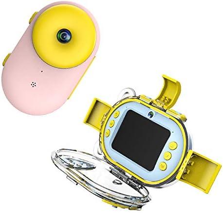 子供防水Wifiデジタルカメラ、一眼レフモーションダブルレンズダイビングカメラ、800MP 1080 P子供アクションカメラスポ