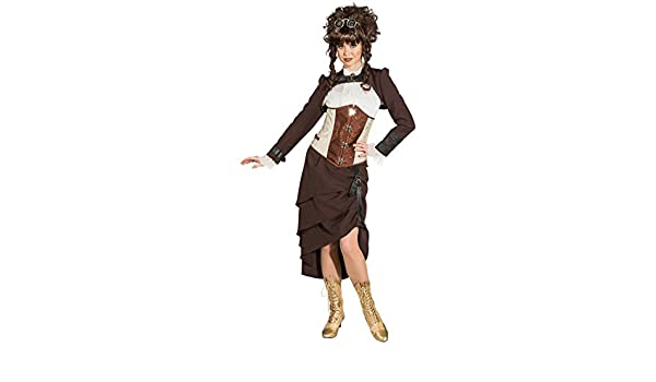 NET TOYS Falda Steampunk - ES 40 (S) | Falda Victoriana | Enagua ...