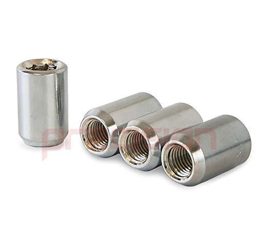 Precision 16 x Slim Fit Tuner Alloy Wheel Nuts for Ḟord Fiesta PN.SFP-16NM10TK+SKEY532
