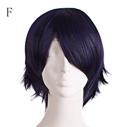 FORUU Wigs, 2019 Valentine's Day Surprise Best Gift For Girlfriend Lover Wife Party Under 5 Free delivery Graduated Color Cosplay Wig Start Life In Another World Costume Play Halloween F -