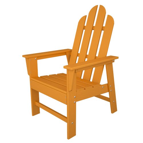 POLYWOOD ECD16TA Long Island Dining Chair, (Long Island Recycled Dining Chair)