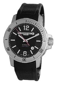 Raymond Weil Watches Nabucco 3900-STC-05207 - Reloj analógico automático para hombre, correa de cuero color negro