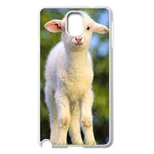 Samsung Galaxy Note 3 Case, Meek Little Sheep Case for Samsung Galaxy Note 3 White lmn317564266