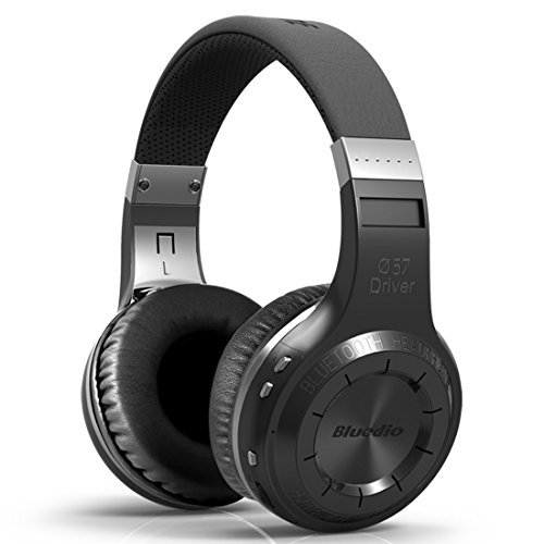 Bluedio HT Turbine Wireless Bluetooth 5.0 Stereo Headphones with Mic (Black)